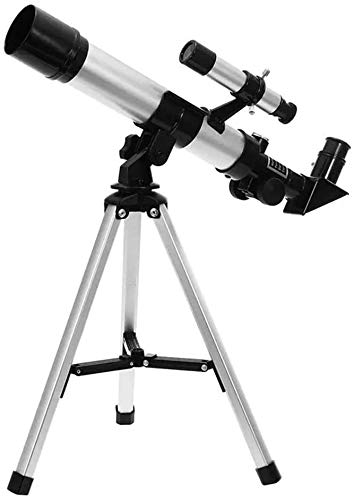 ZouYongKang Telescope for Kids Telescopes for Astronomy Beginners Capable of 90x Magnification Includes Two Eyepieces Tabletop Tripod Finder Scope Ideal Birthday Space Gift