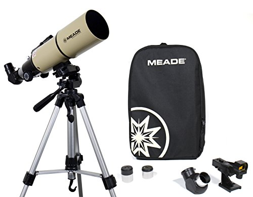 Meade Instruments 222001 80mm Adventure Scope with Accessories, Tripod and Backpack, Tan/Black
