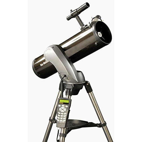 Skywatcher Explorer 130P SynScan AZ GOTO (130mm (5.1Inches) f/650–Computer-Controlled Newtonian Telescope with Parabolic Mirror –Black