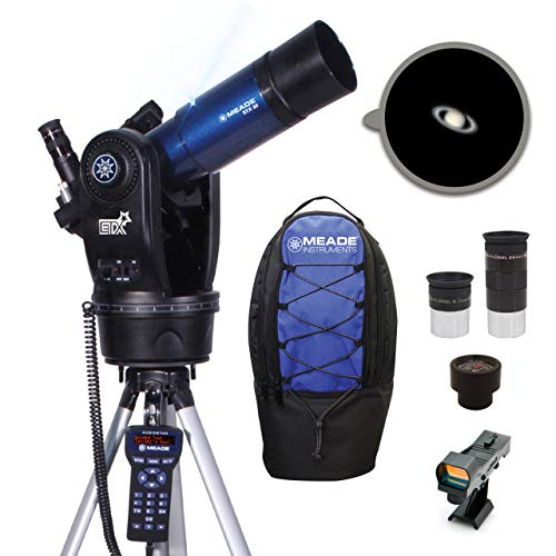 Meade Instruments ETX80 Observer Portable Computerised Telescope with Backpack - Metallic Blue 205002