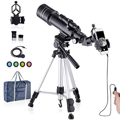 Telescope Astronomy HD Professionals Telescope for Kids Adults Refractor Astronomy Telescope 40070