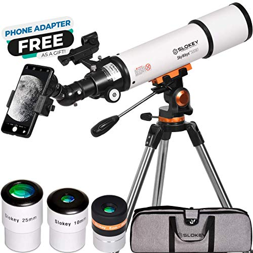 Telescope for Astronomy for Adult Beginners - Profesional, Portable and Powerful 20x-250x - Easy to Mount and Use - Astronomical Telescope for Moon, Planets and Stargazing - Includes a 2-Year Warranty
